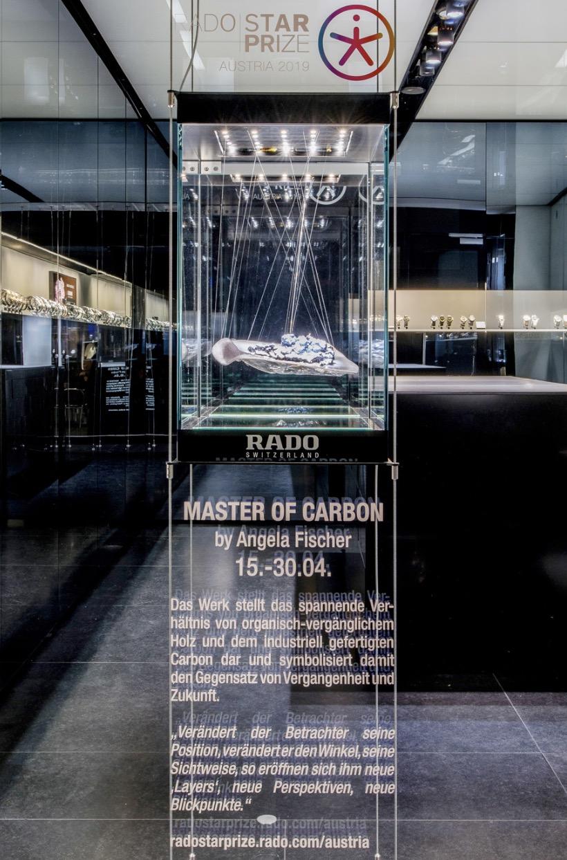 MASTER OF CARBON Installation RADO 1010 Wien Copyright : Kollektiv Fischka