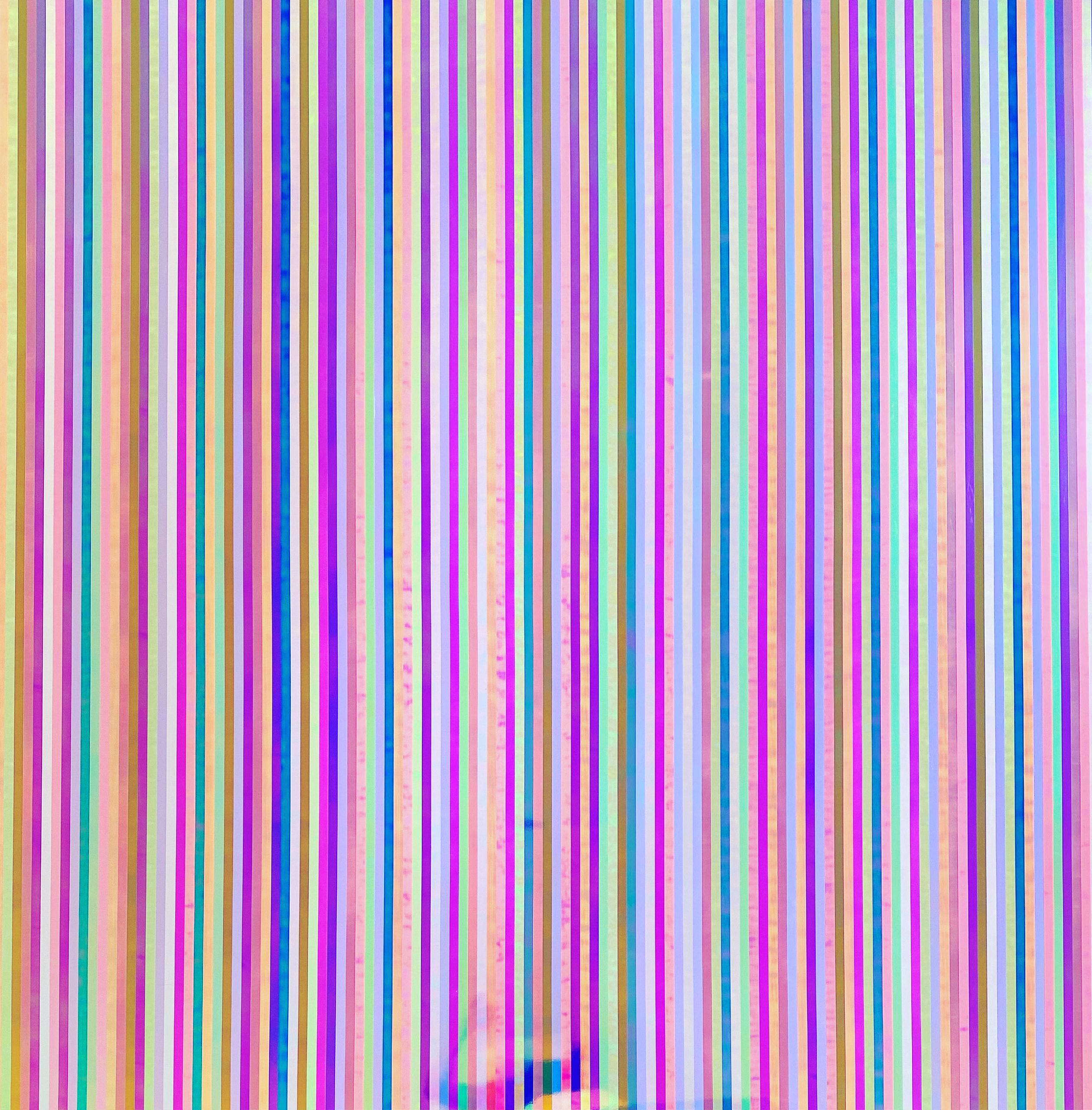 IRIDESCENT 01 MDF 180 x 180 x 0,5 cm